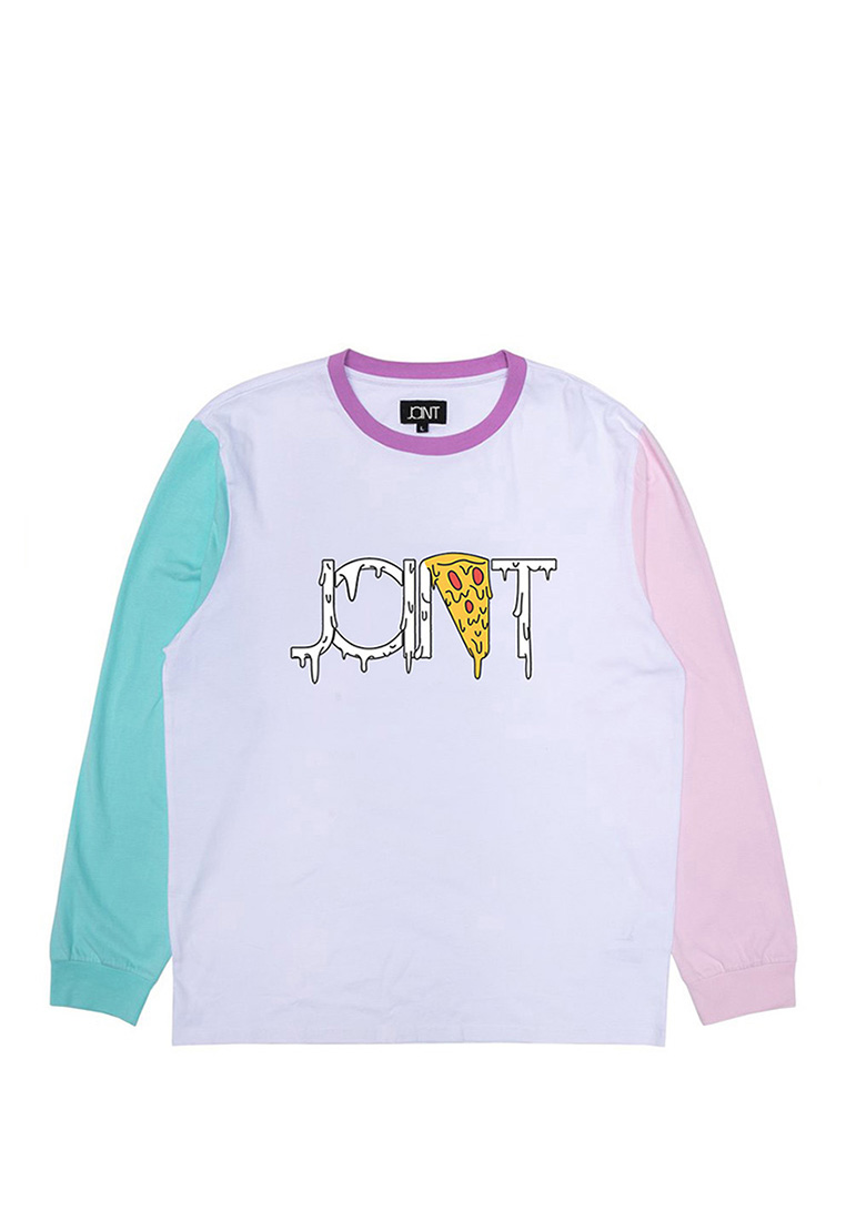 ХУДИ JOINT CREWNECK SWEATER PIZZA (White) ss20/f1