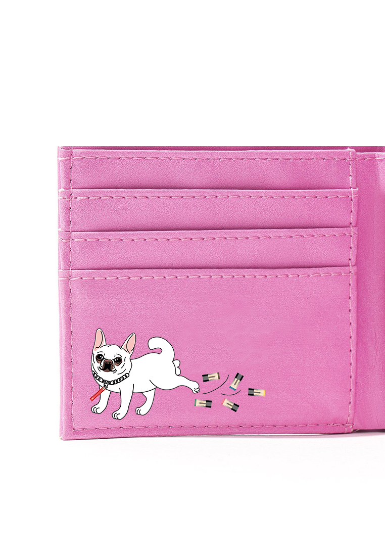 КОШЕЛЕК  JOINT FOLD WALLET (PINK) ss20/f15