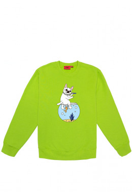 Худи Joint ХУДИ JOINT CREWNECK SWEATER AQUARIUM IDGAF (Green)