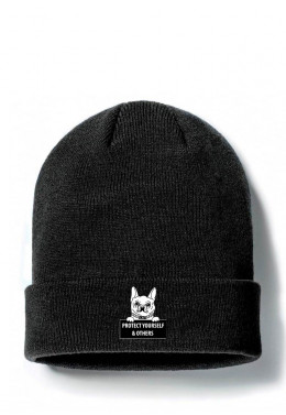JOINT FALL`20 ШАПКА JOINT BEANIE CLASSIC DOGGY (Black)