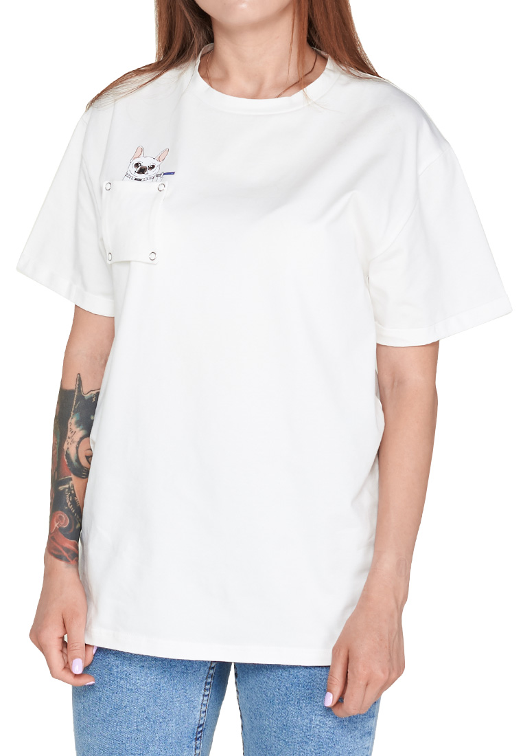 ФУТБОЛКА JOINT TEE CLASSIC DOGGY (White) ss20/1