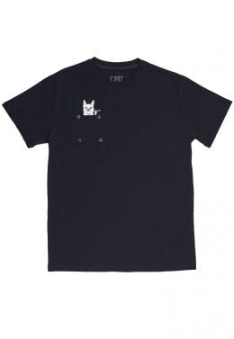 JOINT FALL`20 ФУТБОЛКА JOINT TEE CLASSIC DOGGY (Black)
