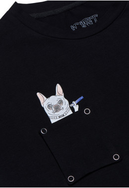 ФУТБОЛКА JOINT TEE CLASSIC DOGGY (Black)