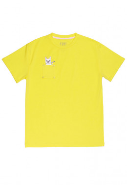 JOINT FALL`20 ФУТБОЛКА JOINT TEE CLASSIC DOGGY (Yellow)