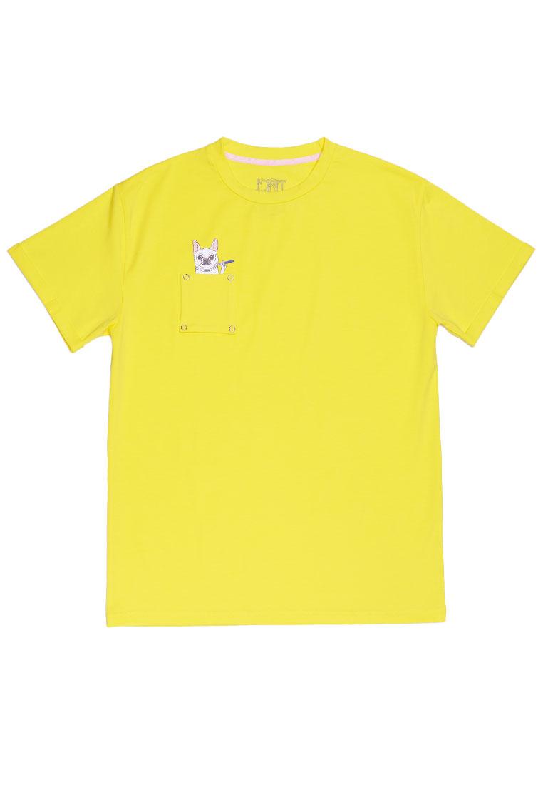ФУТБОЛКА JOINT TEE CLASSIC DOGGY (Yellow) ss20/5