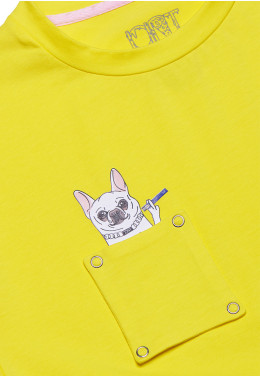ФУТБОЛКА JOINT TEE CLASSIC DOGGY (Yellow)