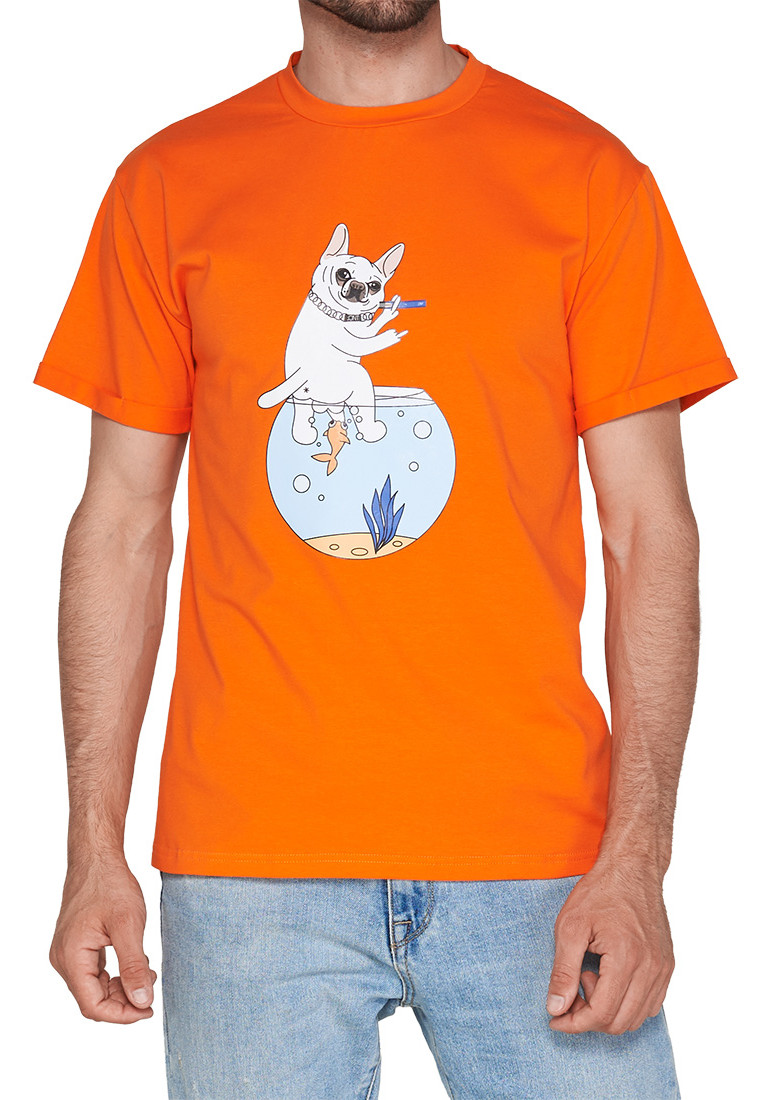 ФУТБОЛКА JOINT TEE AQUARIUM IDGAF (Orange) ss20/6