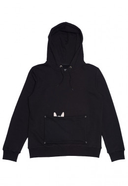 JOINT FALL`20 ХУДИ JOINT HOODIE HAPPY DOGGY (Black)