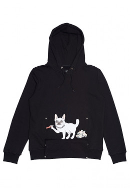 ХУДИ JOINT HOODIE HAPPY DOGGY (Black)