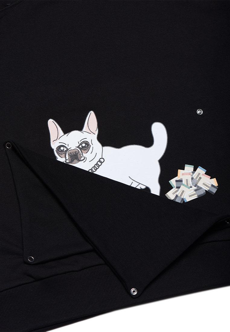 ХУДИ JOINT HOODIE HAPPY DOGGY (Black) ss20/8